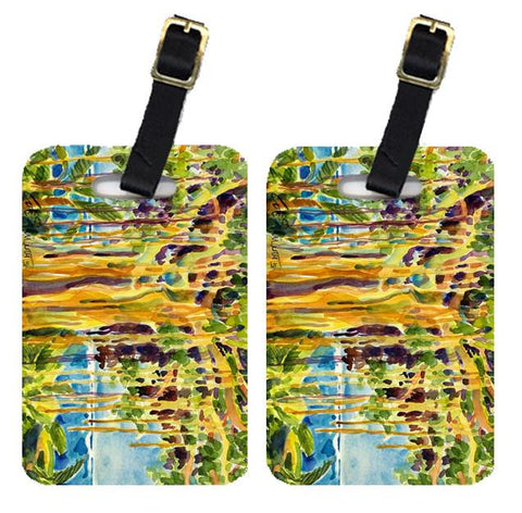 Buy this Pair of 2 Tree - Banyan Tree Luggage Tags