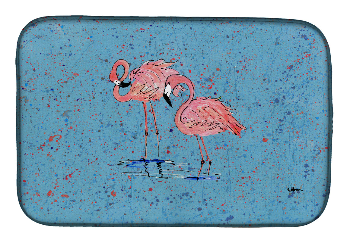 Buy this Flamingo Dish Drying Mat 8566DDM