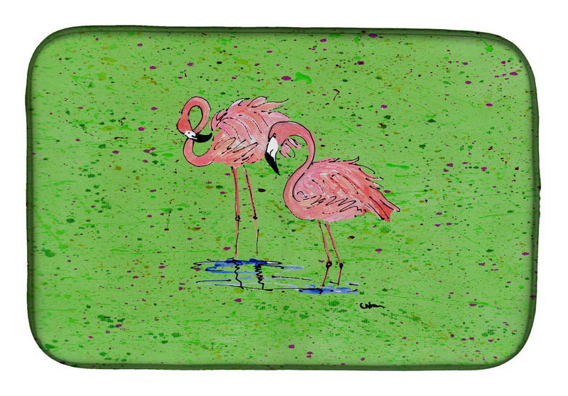 Buy this Flamingo Dish Drying Mat 8567DDM