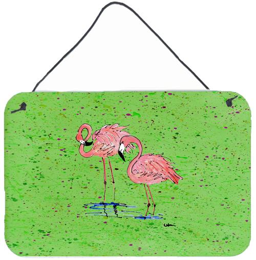 Buy this Flamingo Aluminium Metal Wall or Door Hanging Prints
