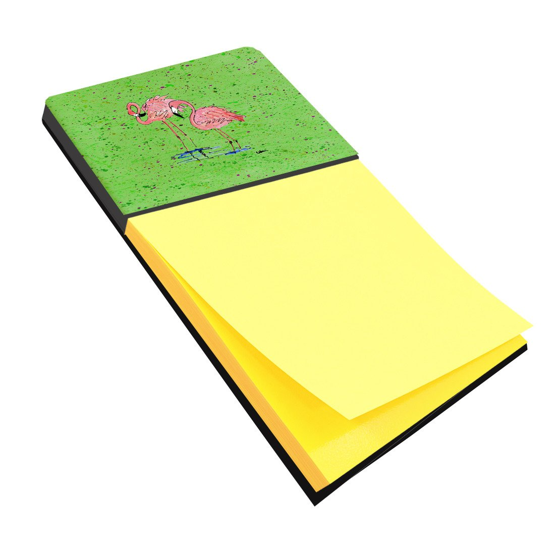 Flamingo Refiillable Sticky Note Holder or Postit Note Dispenser 8567SN by Caroline's Treasures
