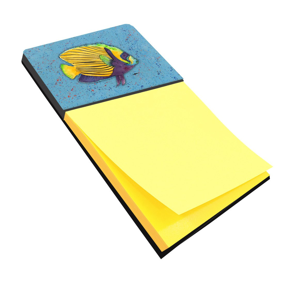 Tropical Fish on Blue Refiillable Sticky Note Holder or Postit Note Dispenser 8579SN by Caroline's Treasures