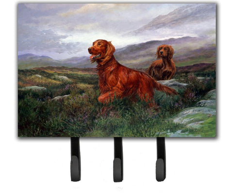 Buy this Irish Setters by Elizabeth Halstead Leash or Key Holder HEH0081TH68