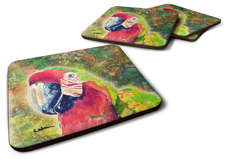 Buy this Set of 4 Parrot  Foam Coasters