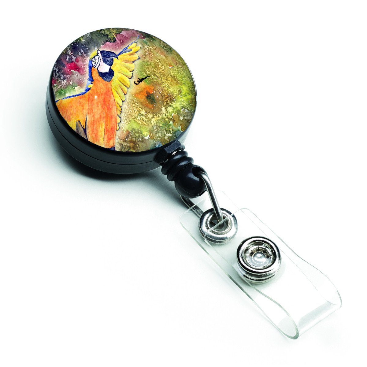 Buy this Parrot  Parrot Head Retractable Badge Reel 8602BR