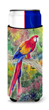 Parrot  Parrot Head Ultra Beverage Insulators for slim cans 8603MUK by Caroline's Treasures