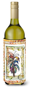 Palm Tree Wine Bottle Beverage Insulator Beverage Insulator Hugger 8615LITERK by Caroline's Treasures