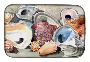 Buy this Sea Shells Dish Drying Mat 8619DDM