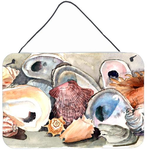 Buy this Sea Shells Indoor Aluminium Metal Wall or Door Hanging Prints