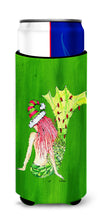 Christmas Mermaid in Lights Ultra Beverage Insulators for slim cans 8631MUK by Caroline's Treasures
