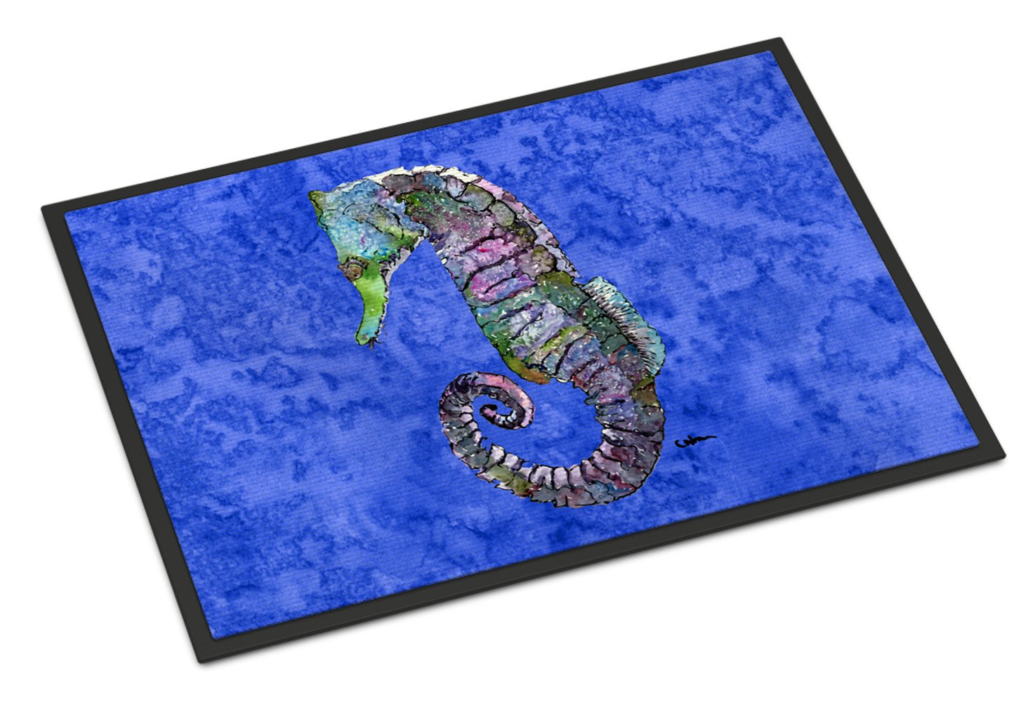 Seahorse   Indoor or Outdoor Mat 24x36 Doormat by Caroline's Treasures