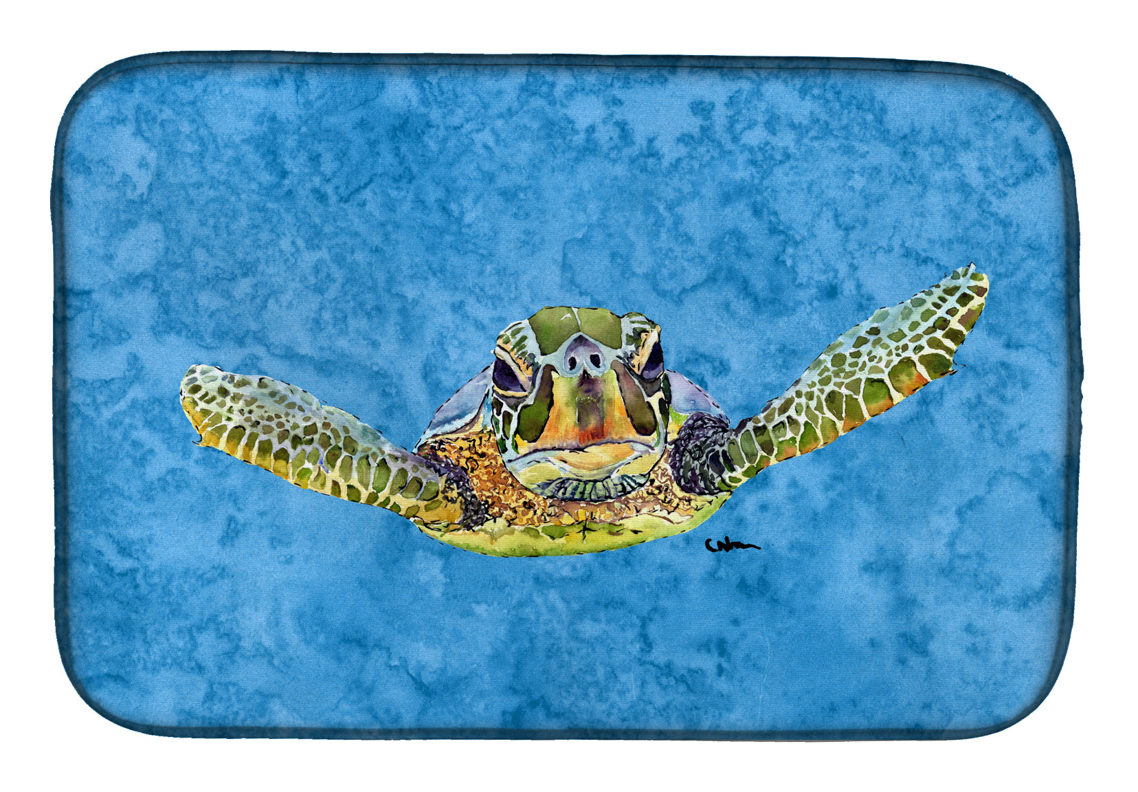 Buy this Turtle Dish Drying Mat 8653DDM