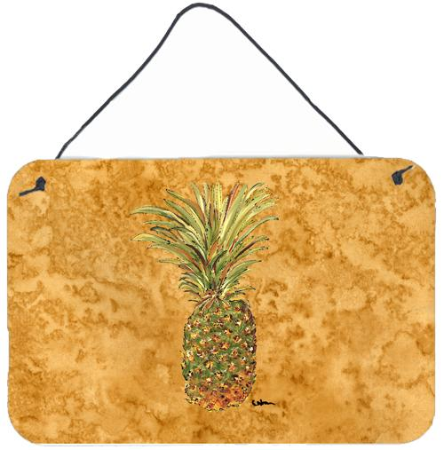 Buy this Pineapple  Indoor Aluminium Metal Wall or Door Hanging Prints