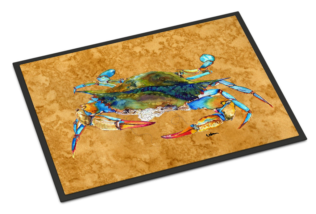 Buy this Blowing Bubbles Blue Crab Indoor or Outdoor Mat 18x27 8655MAT