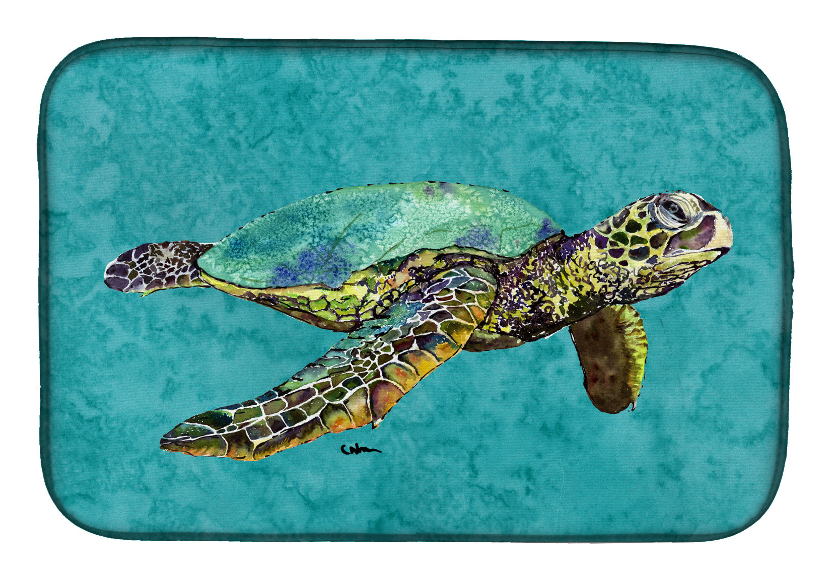 Buy this Turtle Dish Drying Mat 8659DDM