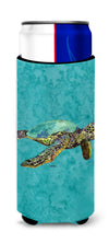 Loggerhead Turtle Ultra Beverage Insulators for slim cans 8659MUK by Caroline's Treasures