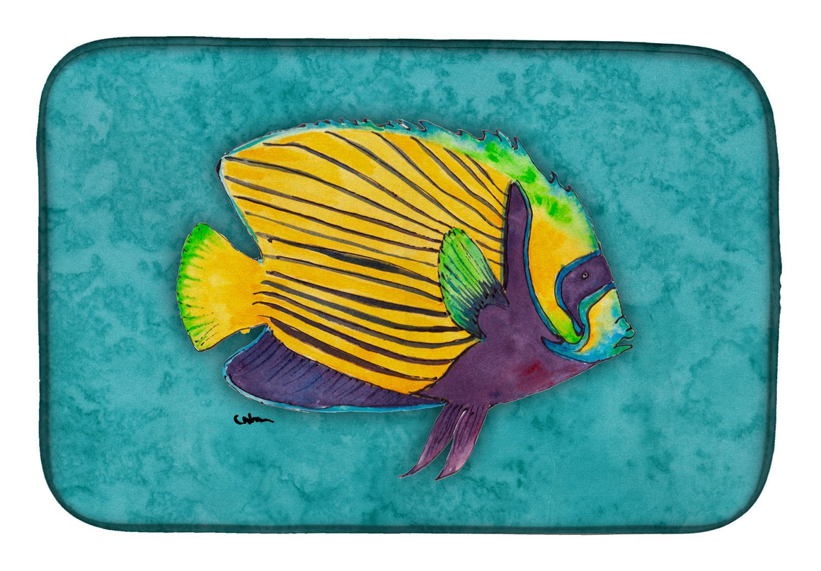 Buy this Tropical Fish Dish Drying Mat 8674DDM