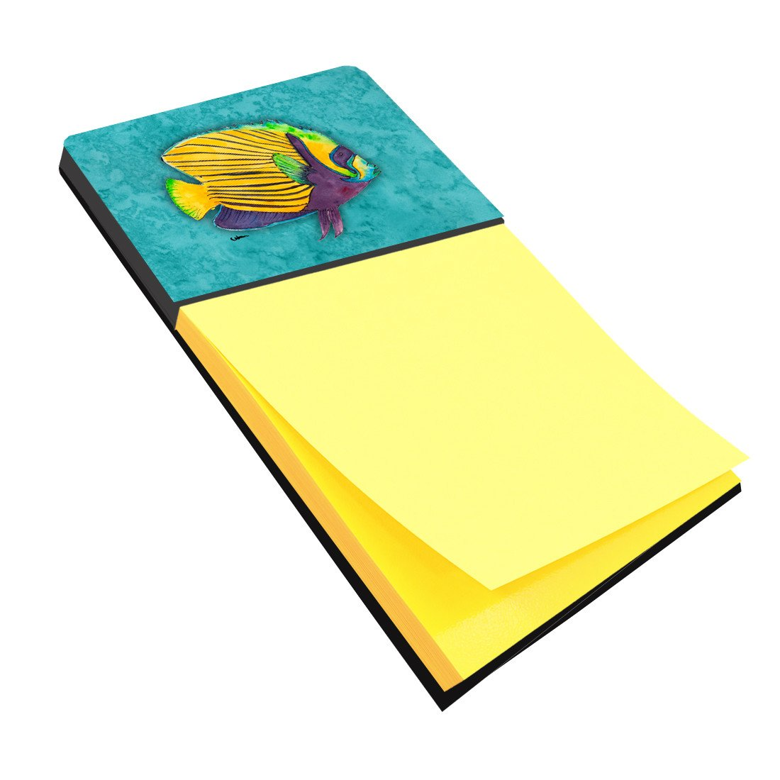 Tropical Fish Refiillable Sticky Note Holder or Postit Note Dispenser 8674SN by Caroline's Treasures