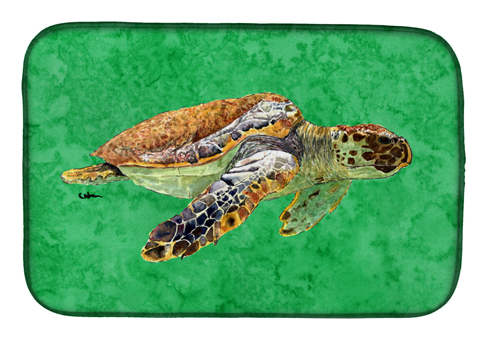 Buy this Turtle Dish Drying Mat 8675DDM