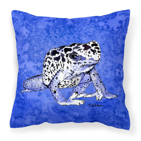 Buy this Frog Fabric Decorative Pillow 8687PW1414