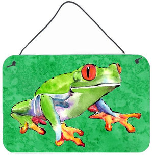 Buy this Frog Indoor Aluminium Metal Wall or Door Hanging Prints