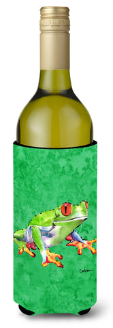Buy this Green Tree Frog Wine Bottle Beverage Insulator Beverage Insulator Hugger