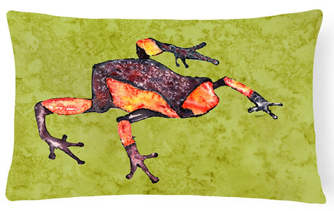 Buy this Frog   Canvas Fabric Decorative Pillow
