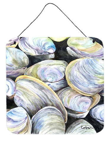 Buy this Clam Quahog Aluminium Metal Wall or Door Hanging Prints