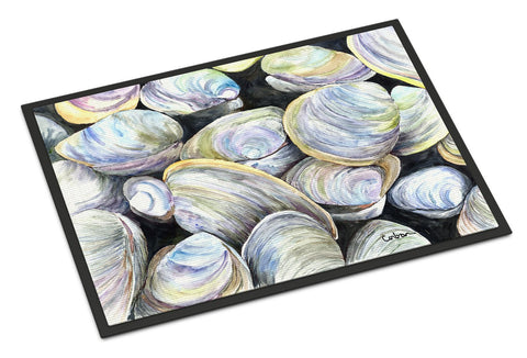 Buy this Clam Quahog  Indoor or Outdoor Mat 24x36 Doormat