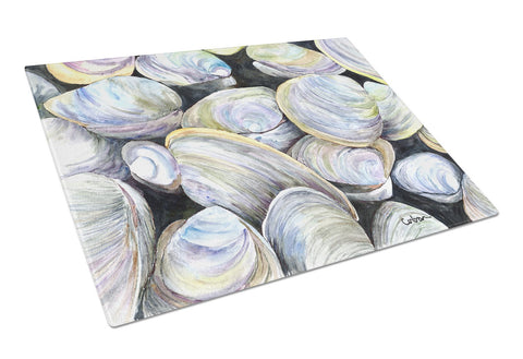 Buy this Clam Quahog  Glass Cutting Board Large