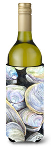Clam Quahog Shells Wine Bottle Beverage Insulator Beverage Insulator Hugger by Caroline's Treasures