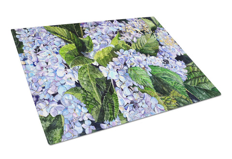 Buy this Hydrangea  Glass Cutting Board Large