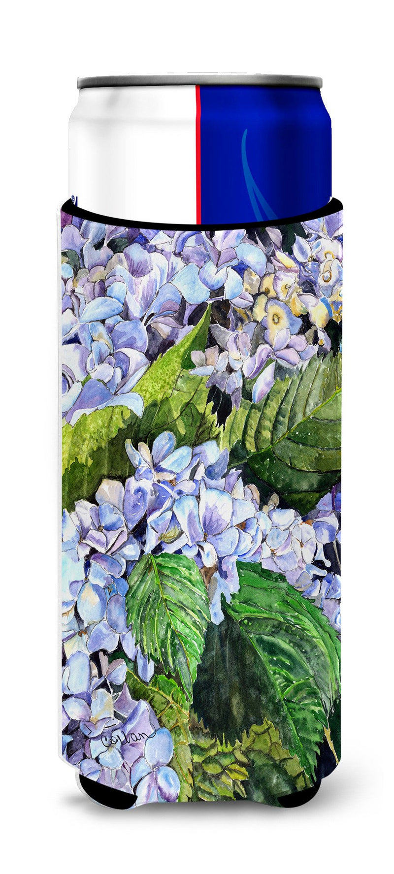 Buy this Hydrangea Ultra Beverage Insulators for slim cans 8730MUK
