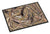 Buy this Burlap Deer Horns Indoor or Outdoor Mat 18x27 8732MAT