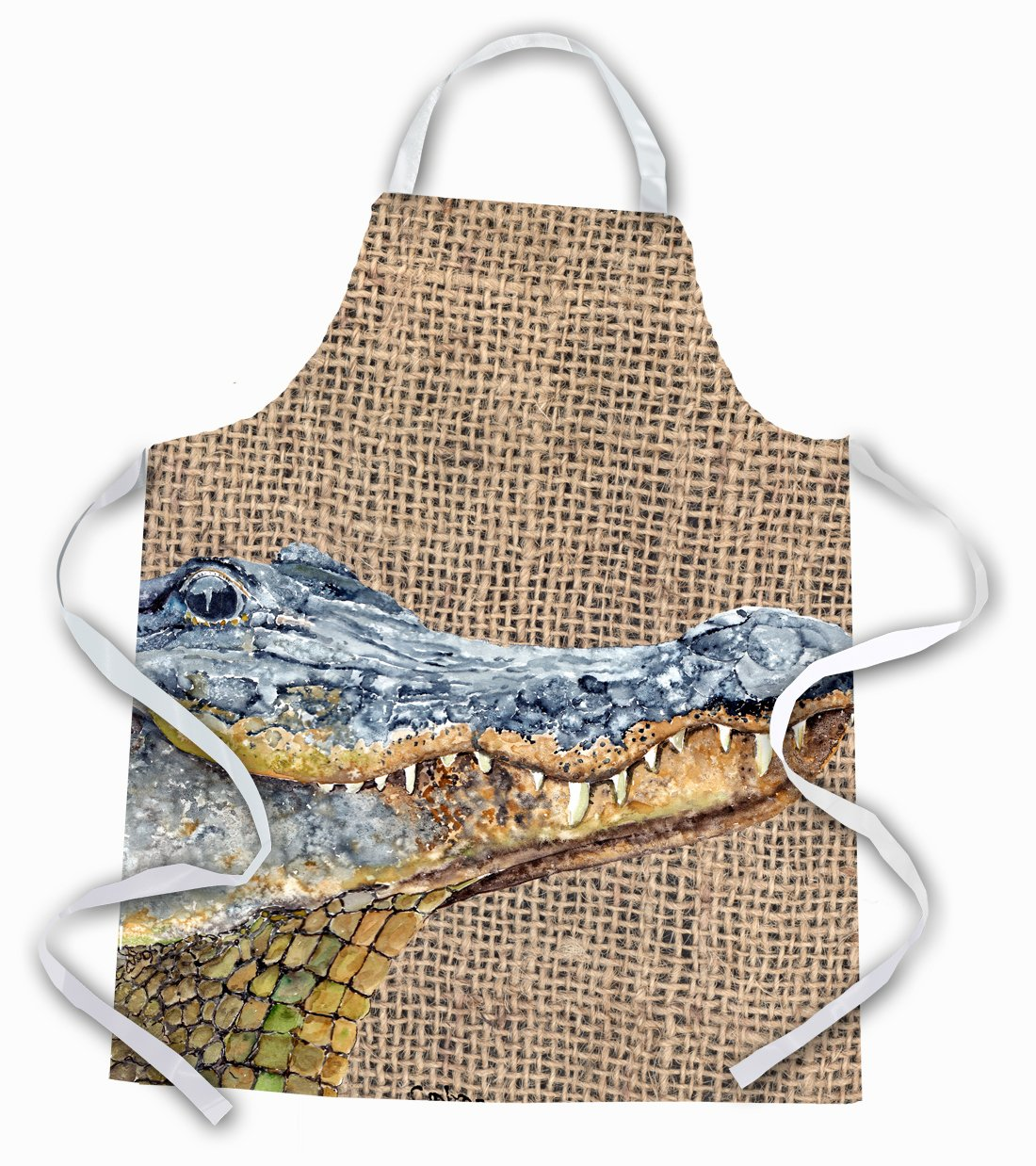 Alligator  Apron by Caroline's Treasures
