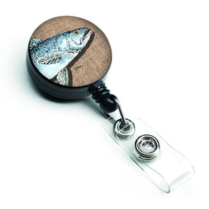 Buy this Fish Speckled Trout Retractable Badge Reel 8737BR