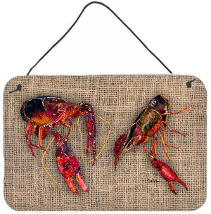 Buy this Crawfish  Indoor Aluminium Metal Wall or Door Hanging Prints