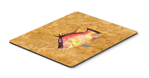 Buy this Hog Snapper on Gold Mouse Pad, Hot Pad or Trivet 8751MP