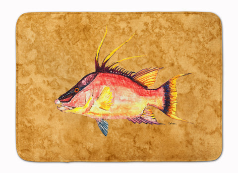 Buy this Hog Snapper on Gold Machine Washable Memory Foam Mat 8751RUG
