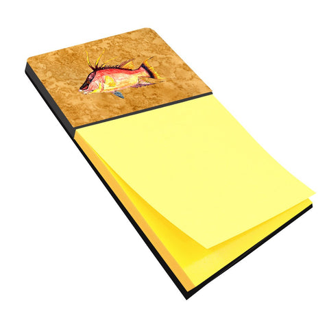 Buy this Hog Snapper on Gold Sticky Note Holder 8751SN