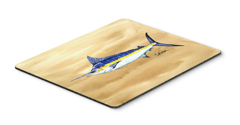 Buy this Swordfish on Sandy Beach Mouse Pad, Hot Pad or Trivet 8754MP