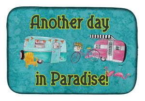 Buy this Another Day in Paradise Dish Drying Mat 8758DDM
