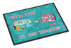 Welcome to the trailer Indoor or Outdoor Mat 18x27 Doormat - the-store.com