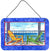 Buy this Adirondack Chairs Blue Aluminium Metal Wall or Door Hanging Prints