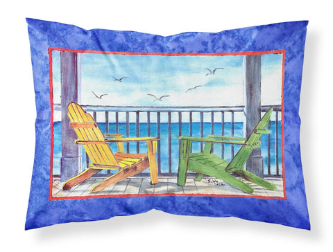 Buy this Adirondack Chairs Blue Moisture wicking Fabric standard pillowcase