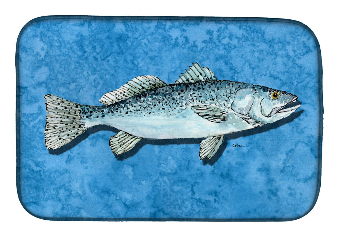 Buy this Fish - Trout Dish Drying Mat 8770DDM