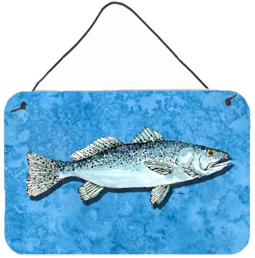 Buy this Fish - Trout Indoor Aluminium Metal Wall or Door Hanging Prints
