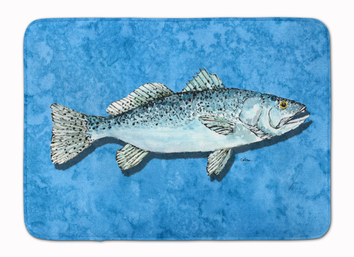Buy this Fish - Trout Machine Washable Memory Foam Mat 8770RUG