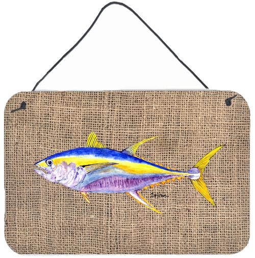 Buy this Fish - Tuna Indoor Aluminium Metal Wall or Door Hanging Prints