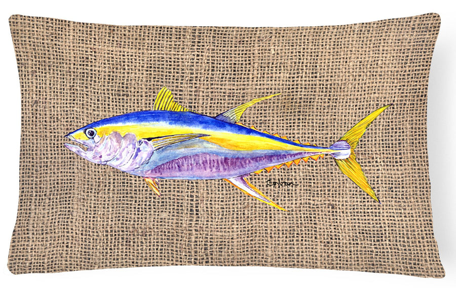 Buy this Fish - Tuna Decorative   Canvas Fabric Pillow